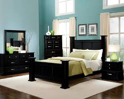 paint ideas for bedrooms with dark furniture photo - 1