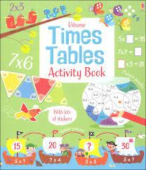 nav nav nav usborne times tables activity book