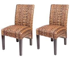 woven wicker dining room chairs back table and rattan seat leather winning dining room with