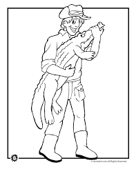 Small Picture Crocodile Hunter Coloring Page Woo Jr Kids Activities