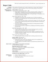 Customer Service Objective Resume Sample Resume Customere Rep Resume Example Examples For Ideas Of 60 52