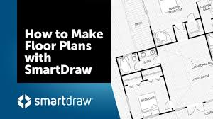 how to make floor plans with smartdraw s floor plan creator and designer