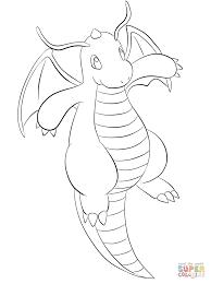 Dragonite Super Coloring Pokemon Pokemon Coloring Pages