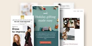 Promotional Email Template Design 4 Ways To Master Your Holiday Email Templates In 2019