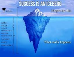 success is an iceberg leadership fellows advice insights iceberg