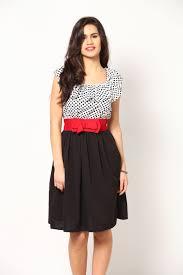 Buy Eavan White Black Red Dresses Eavan Fashion Pvt Ltd