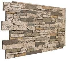 faux stone wall panel durango