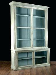 bookcase glass door bookcase antique cabinet medium size of cozy vintage oak