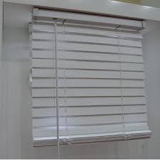 Office window blinds Wooden Type Of Office Window Curtain 50mm Cordless Classic Pvc Faux Wood Horizontal Window Venetian Blinds Aliexpresscom Type Of Office Window Curtain 50mm Cordless Classic Pvc Faux Wood