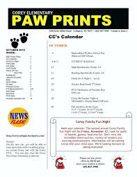 Pto Policy Template Agenda Template Pictures Newsletter Templates