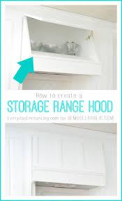 Build Range Hood Remodelaholic Create A Storage Range Hood