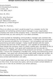 Public Relations Cover Letter Public Relations Cover Letter Entry