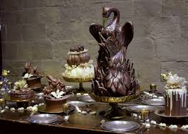 Yule Ball Decorations Yule Ball Chocolate Pudding Table Decorations by bergunty on 16