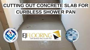 easily install curbless shower in