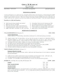 Chemist Resume Cool Resume Format Microbiology Fresher In Doc Chemistry Major Graduate