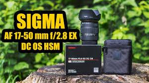 <b>SIGMA AF 17</b>-<b>50 mm</b> f/2.8 EX DC OS HSM PHOTO & VIDEO TEST ...
