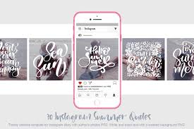 30 Template Instagram Summer Quotes In Social Media Templates On