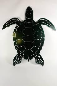sea turtle wall art original metal