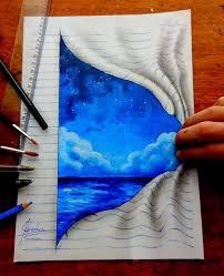 this self taught teenager draws mind bending 3d art with regular pencils