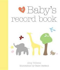 online baby photo book booktopia babys record book by amy nebens buy pregnancy at