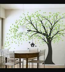 wall tree painting exteri art
