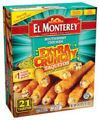 crunchy en cheese taquito snacks