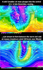 where do jet streams form what causes the jet stream