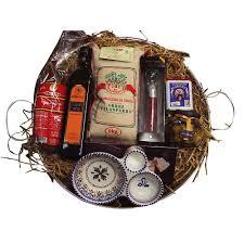 spanish paella gift set with paella pan and ings