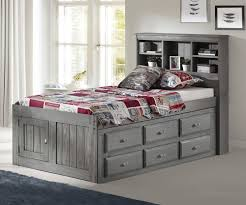 twin captains bed with drawers. Brilliant Bed Twin Bookcase Captains Bed Image 1 And Bed With Drawers D