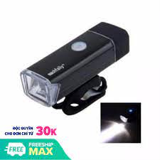 Bán Đèn pha Xe đạp siêu sáng Machfally Sikanshop + 1 Sạc USB - SK29 ( Màu  Đen )
