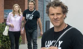 James Cracknell, 48, holds hands with girlfriend Jordan Connell, 34, during  stroll | Daily Mail Online