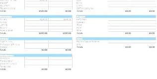 Monthly And Yearly Budget Template Yearly Budget Template On Excel Monthly Spreadsheet Retail