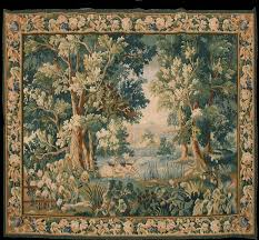 reion of antique french tapestry3 6 x 4 5