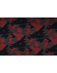 Jogging <b>Camouflage Dark Red</b> - YES Fabrics