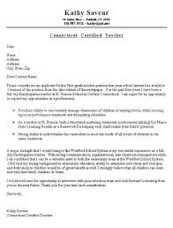 Tips For Cover Letter Writing 5 First Grade Teacher Example Job