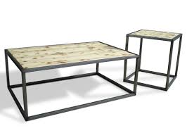 Denver Colorado loft style furniture industrial modern coffee cocktail table
