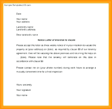 Day Notice To Vacate Template 60 Lease Termination Apartment