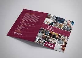 Asu Graphic Design Asu Git Bifold Brochure On Behance
