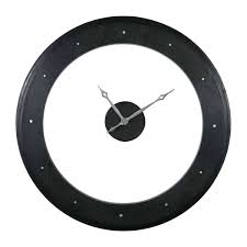 black wall clock clocks big pendulum uttermost 2 uk