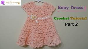 Crochet Baby Skirt Size Chart How To Crochet A Baby Dress Any Size Part 2