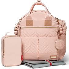 skip hop  piece suite exclusive diaper backpack set  blush