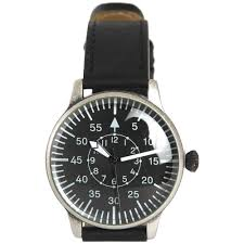 military style mens pilot wrist watch vintage black leather strap sentinel military style mens pilot wrist watch vintage black leather strap gift box