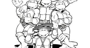Small Picture teenage mutant ninja turtles free online coloring pages Archives