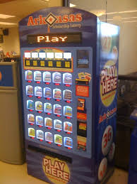 Lottery Vending Machines Beauteous The Arkansas Lottery Vending Machines The Political Watch Dog