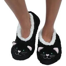 Womens Cat Animal Snoozies