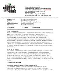 Template Resume Examples Templates Easy Format Administrative