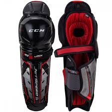 Ccm Jetspeed Ft1 Le Senior Hockey Shin Guards
