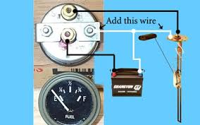 fuel sender wiring diagram sending unit not working hot rod forum hotrodders see pix for wiring wiring diagram for boat fuel gauge