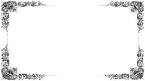 victorian black frame
