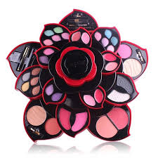 details about professional women full set open as rose flower makeup kit color collection g123